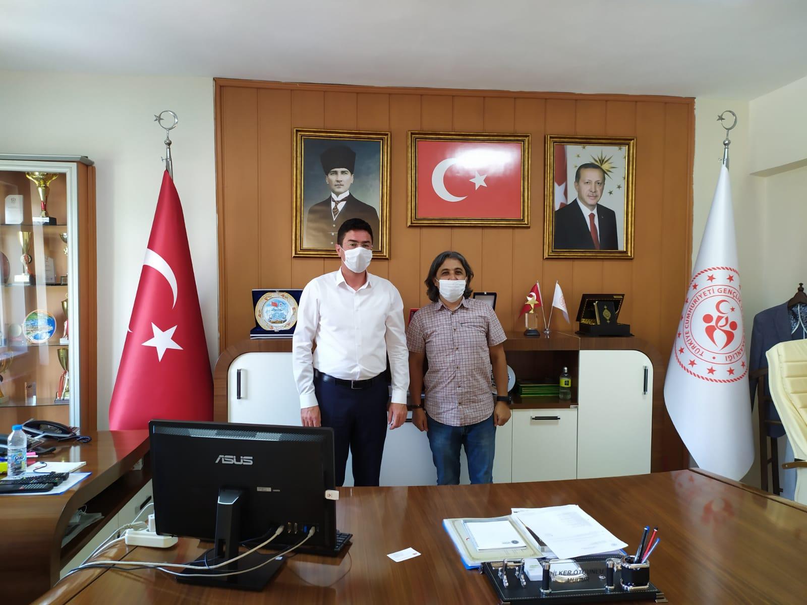 Federasyon Başkanımız Niğde Gençlik ve Spor İl Müdürlüğü ve AFAD'ı ziyaret etti