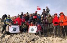 Asya Dağcılık Dedegöl Dağı zirve tırmanışını gerçekleştirdi.