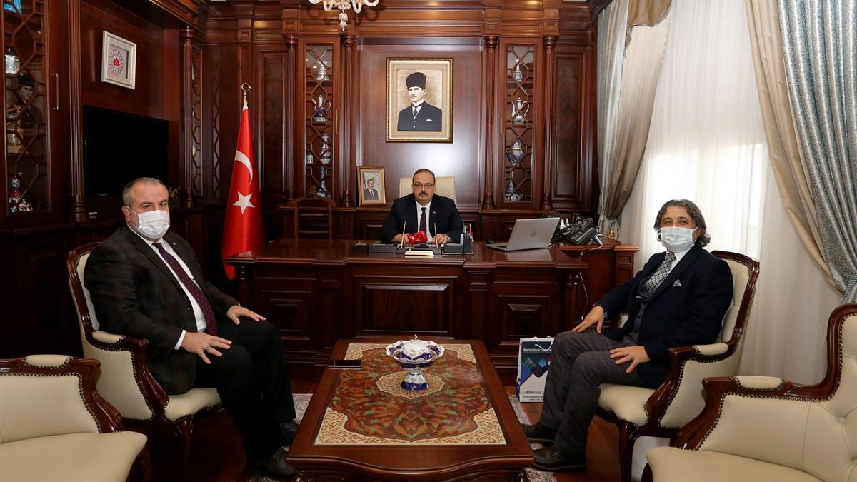 Federasyon Başkanımız Bursa'da Bazı ziyaretlerde Bulundu
