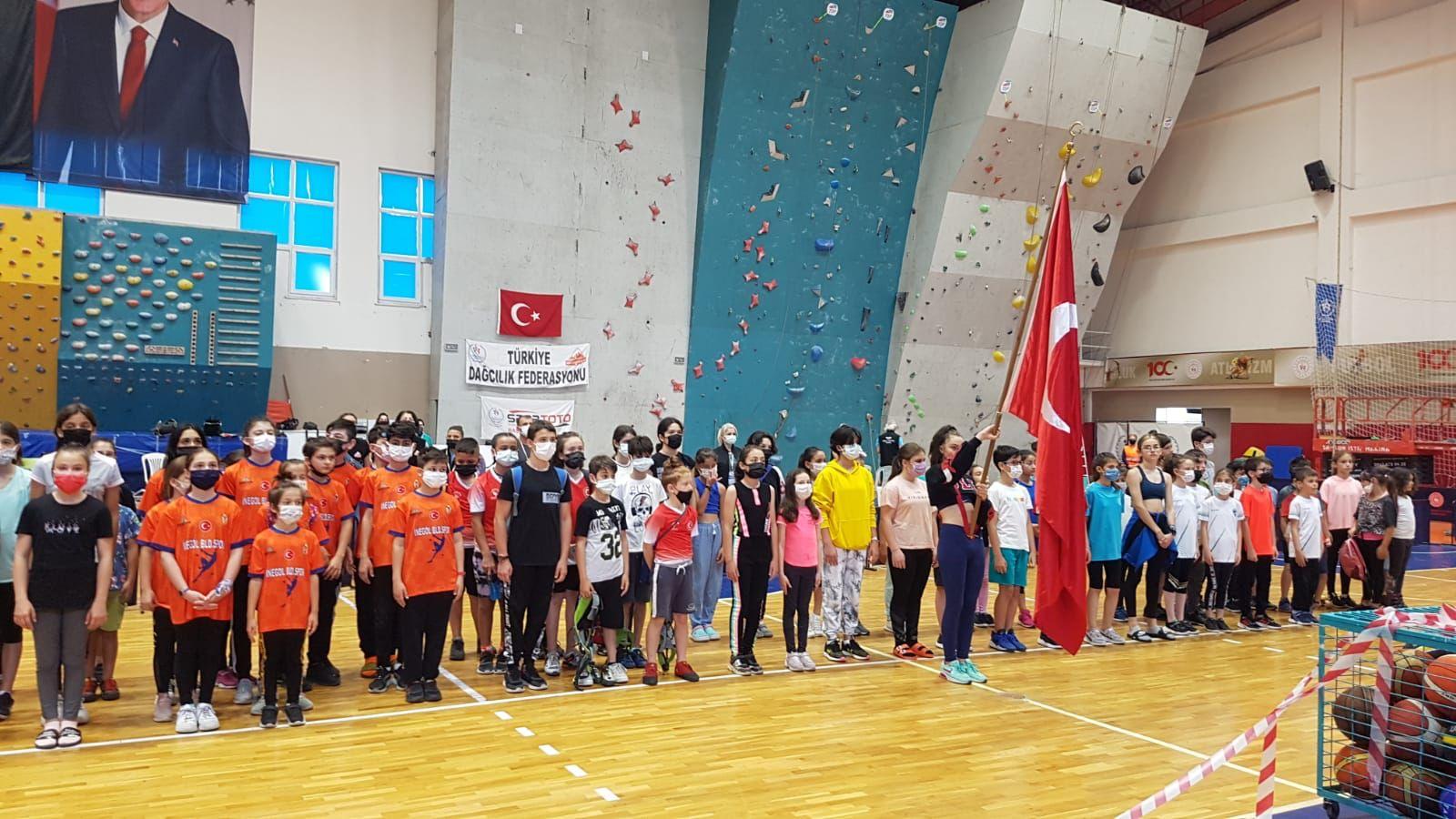 Spor Tırmanış Küçükler C D E (Lider) 2021 Türkiye Şampiyonası Sonuçları