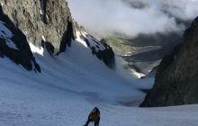 Kaçkar Büyük Buzul tırmanışı gerçekleştirildi.