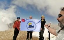 Klosdag Alaca Dağı tırmanışını gerçekleştirdi.