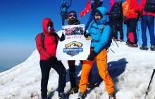 Palandöken Dağcılık ve Verçenik Dağcılık Kulüpleri Ağrı Dağı tırmanışı gerçekleştirdi.