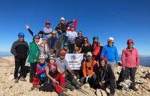 DEDAK Akdağ Uyluktepe tırmanışını gerçekleştirdi.
