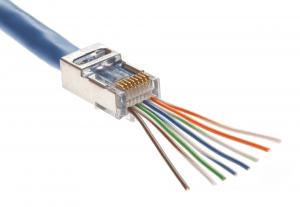 RJ45 CAT5e & CAT6 Easy Wire Screened Plug Platinum Tools