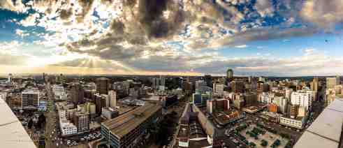 Harare_CBD_Sunset_West_1
