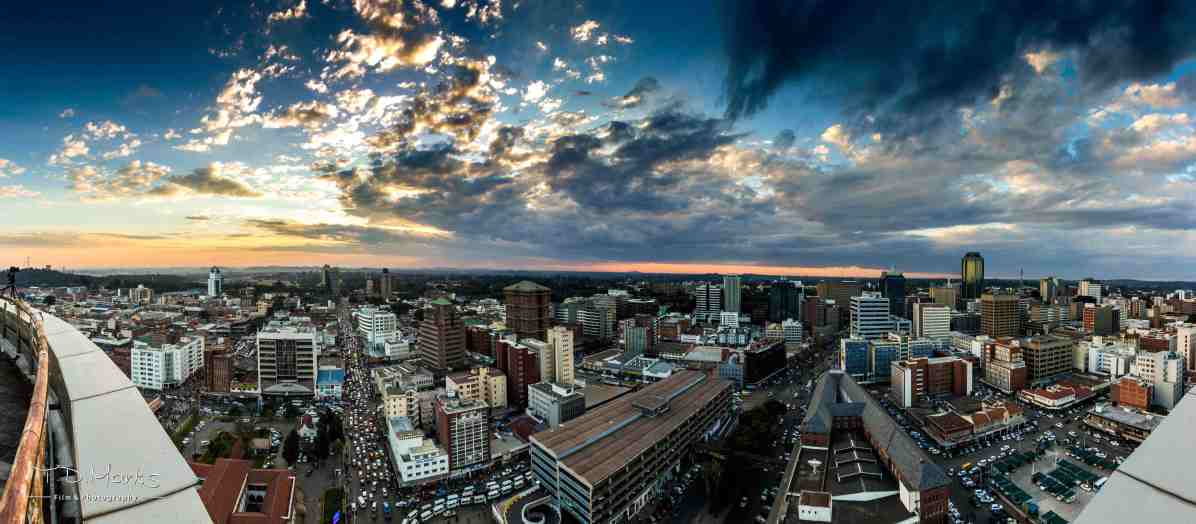 Harare_CBD_Sunset_West_2
