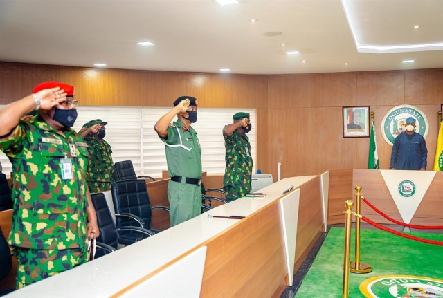 Be Civil In Your Duties, Gov Abiodun Charges Nigerian Army