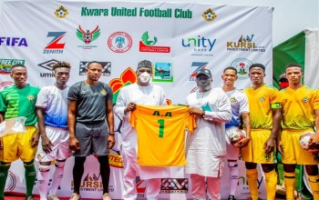 New Jerseys for Kwara United