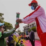 Obaseki Receiving Torch Of Unity