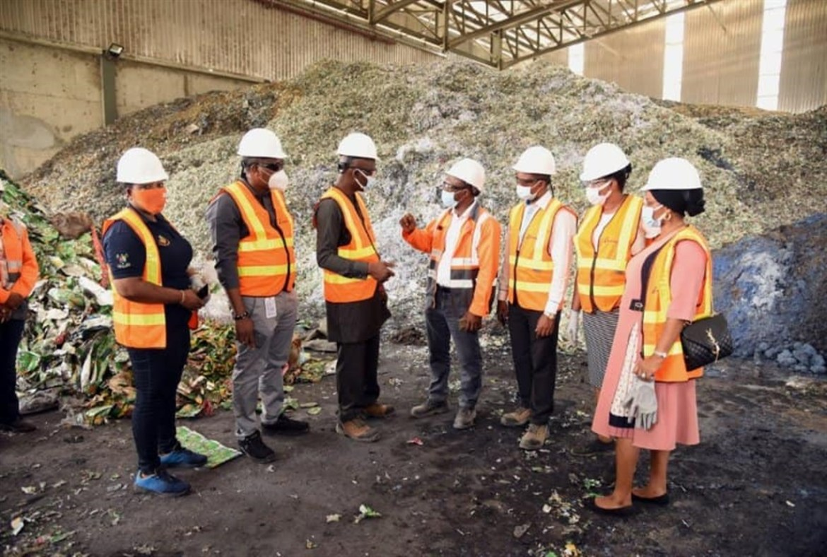 Geocycle Lafarge Commends LAWMA For Efficient Waste Management