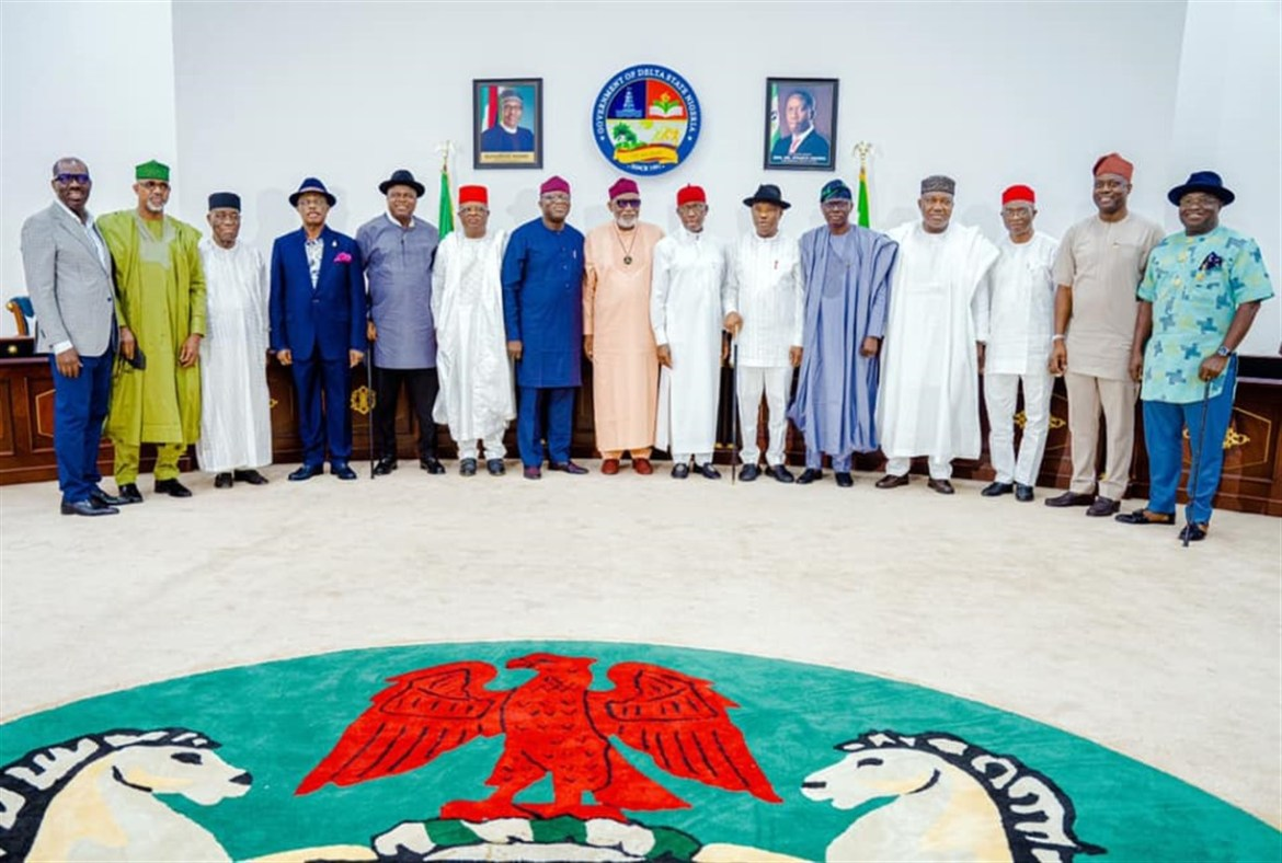 Southern Governors Meet In Asaba, Reaffirm Commitment To The Nation's Unity