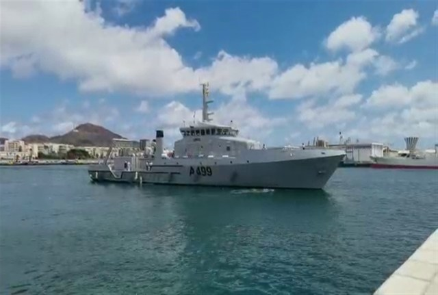 Nigerian Navy's newest Offshore Survey Vessel, NNS LANA - TDPel News