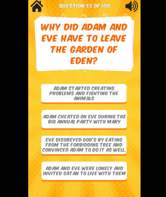 Bible quiz game - TDPel News