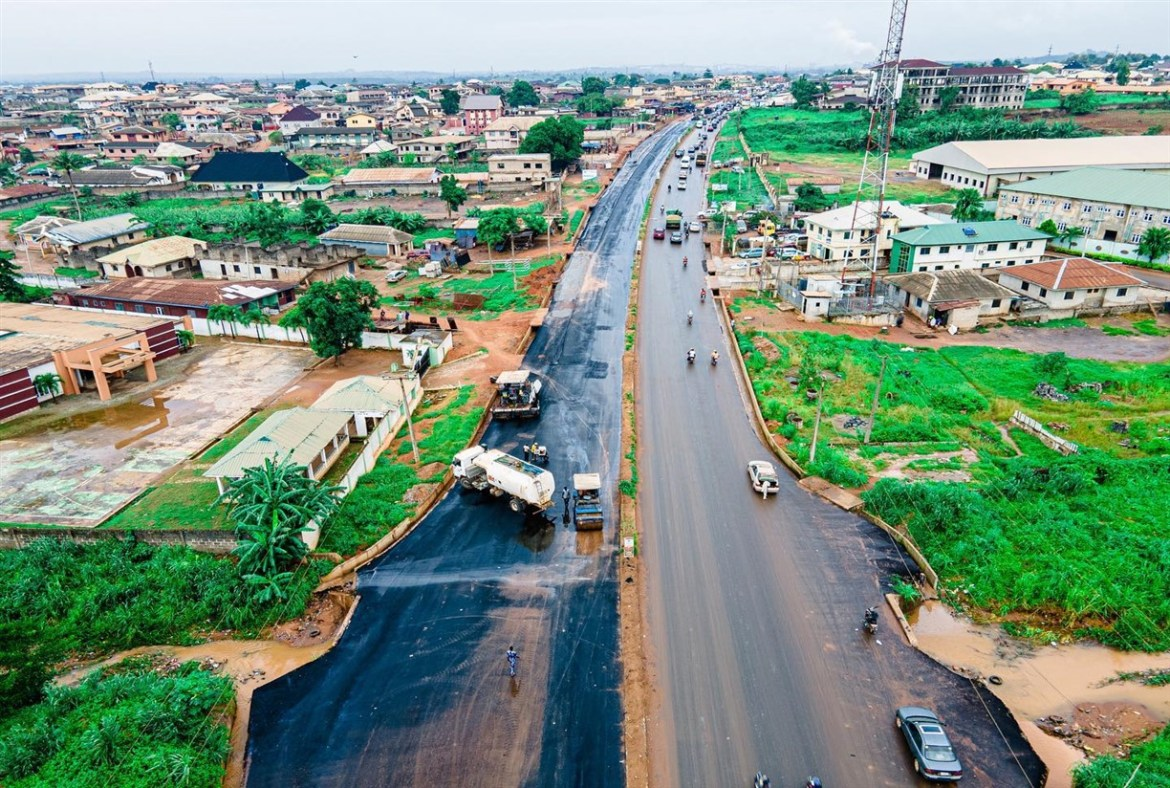 Oba Erinwole Road: Abiodun orders contractor to complete project in two weeks