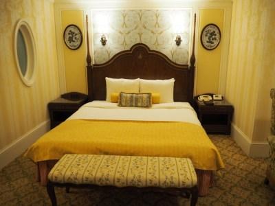 東京ディズニーランドホテル タレットルーム ベッド