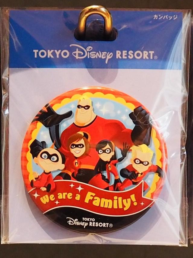 We are family! 家族缶バッジ 東京ディズニーリゾート