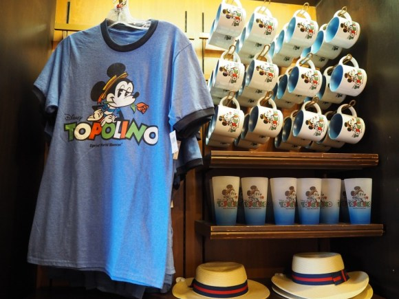 WDWエプコット イタリア館ミッキーグッズ