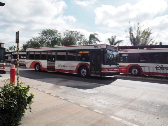 WDW バス Disney Transport