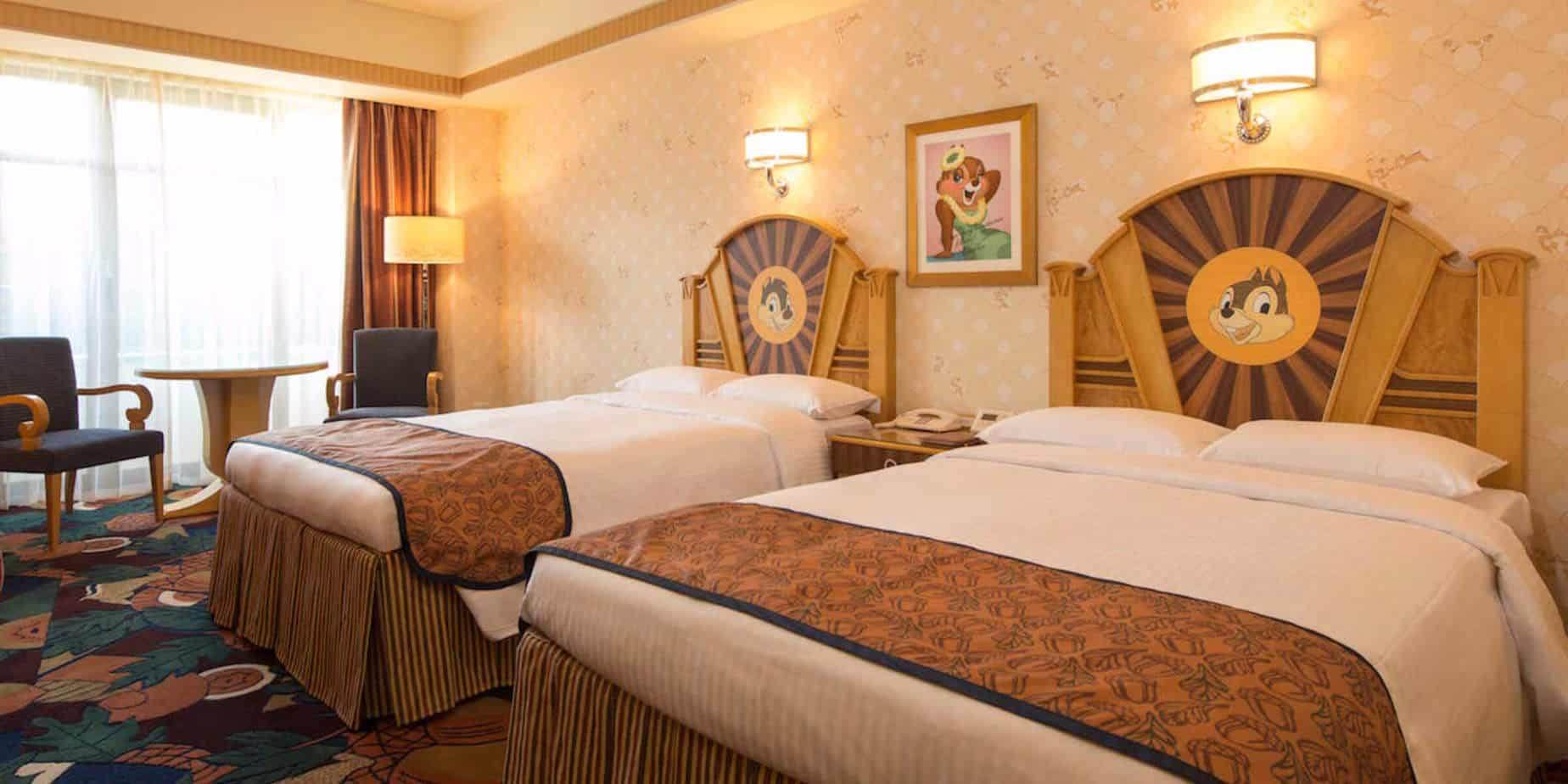 New Chip 'n' Dale & Stitch-Themed Rooms Start at Tokyo Disney Resort