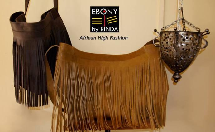 EBONY BY RINDA- Gladiator Leather bags