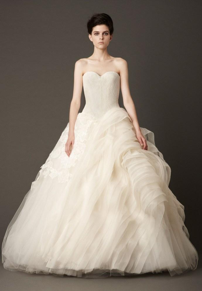 Vera Wang Bridal Collection Fall 2013