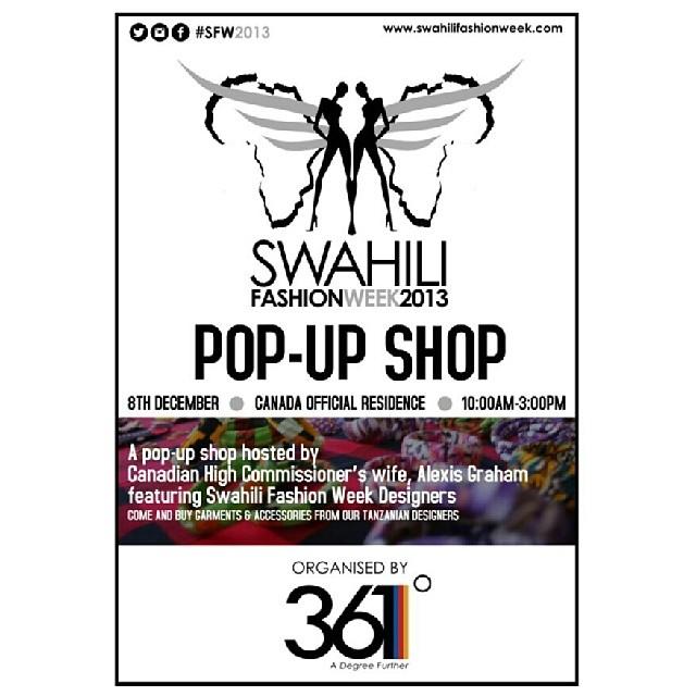 Swahili Fashion Week 2013