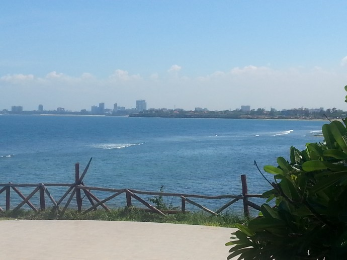 Stunning views from Golden Tulip Hotel in preparation for  Swahili Fashion Week 2013