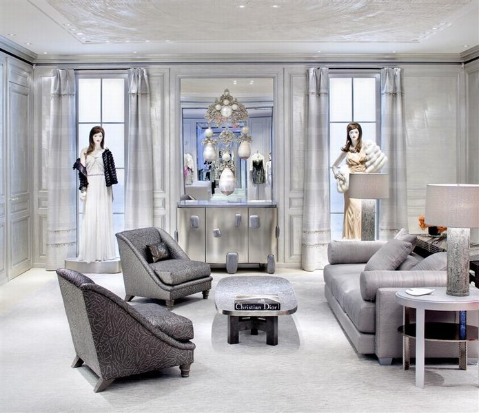 Salon privé - Dior 57th Street in New York