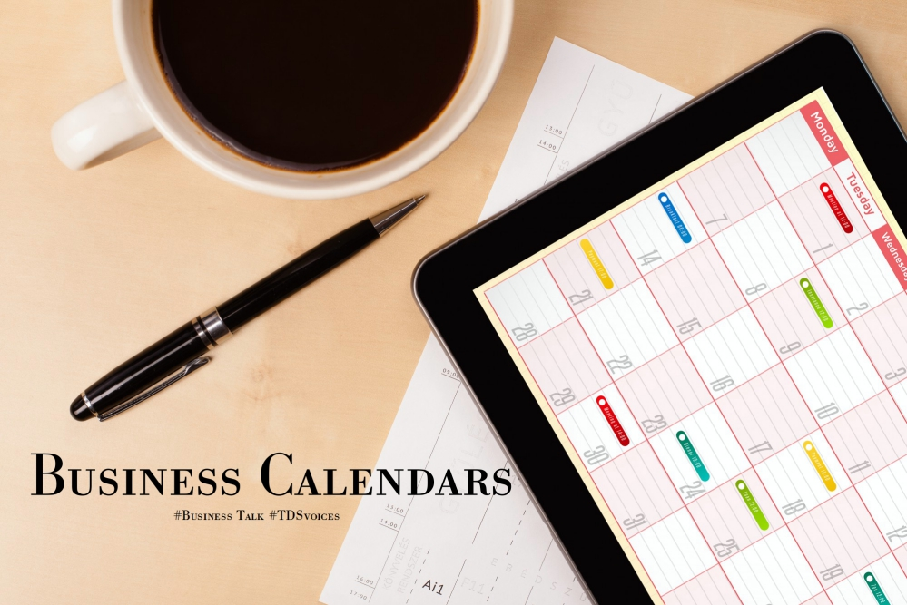 Business calendars: scheduling and planning #Business Talk #TDSvoices