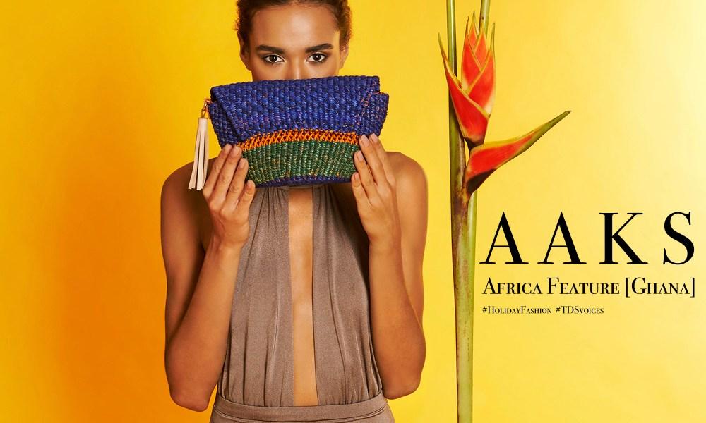 Storytelling through weaving and color AAKS Akosua Afriyie-Kumi Africa Feature Ghana - The Designers Studio