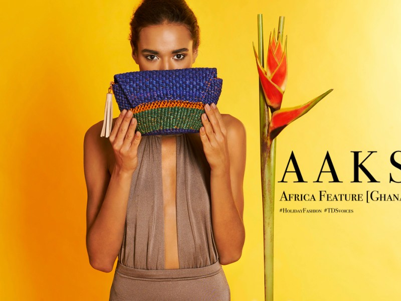 Storytelling through weaving and color AAKS Akosua Afriyie-Kumi Africa Feature Ghana - The Designers Studio