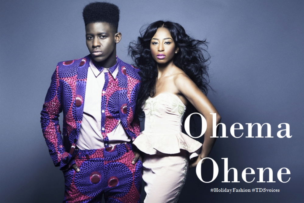 Ghanaian heritage with a British twist by Ohema Ohene #HolidayFashion #TDSvoices