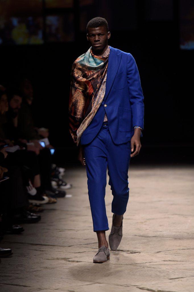 Ikiré Jones Look 10 Generation Africa © Giovanni Giannoni