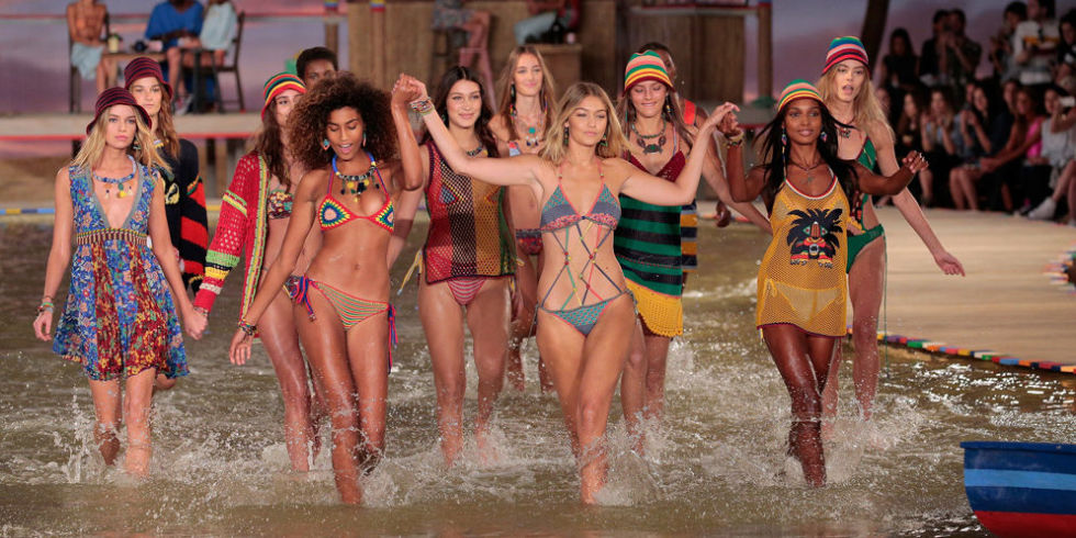 Tommy Hilfiger's InstaPit at its Fall 2016 show during New York Fashion Week (Getty Images)