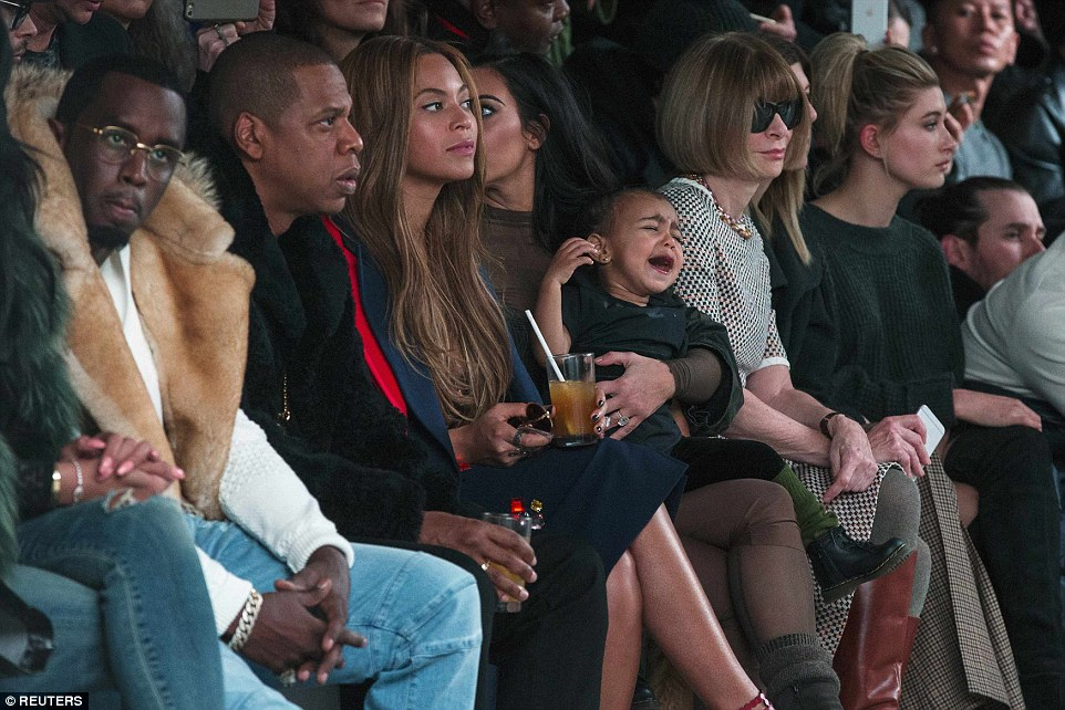 New York Fashion Week Fall '15 Front Row (Photo: Reuters)