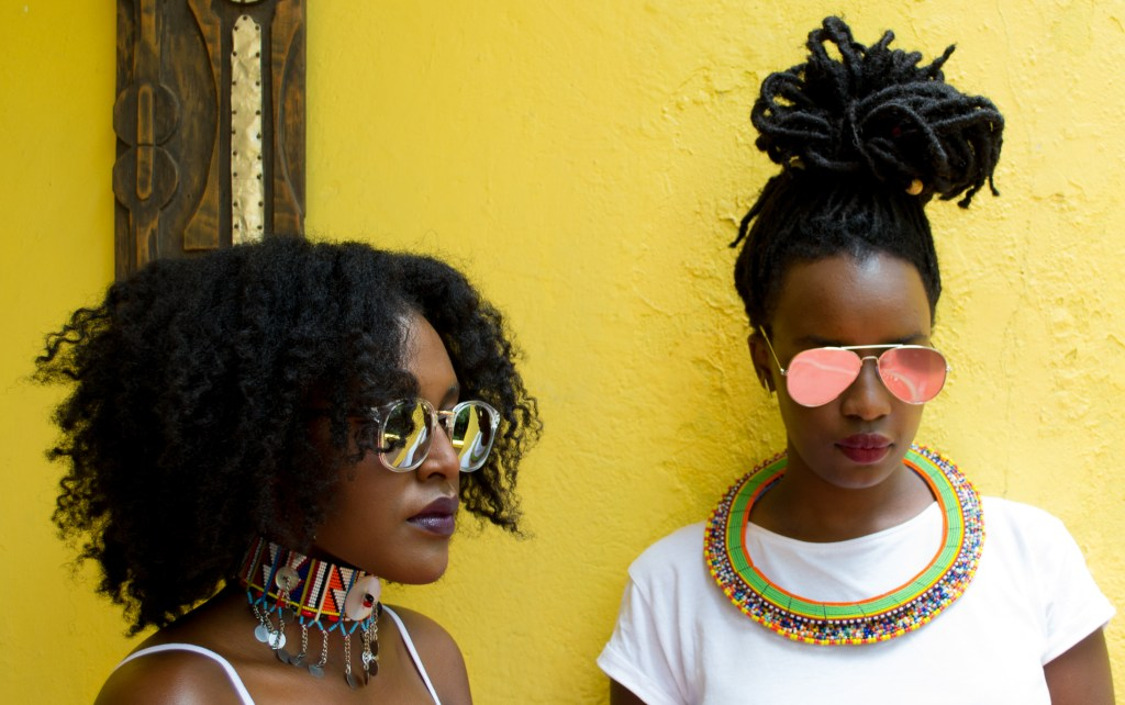 Miss Vavavum in collaboration with hair blogger Yvette Kemi (Image: Perpetua Adoyo)