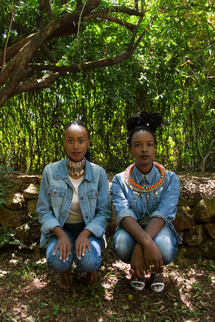 Miss Vavavum in collaboration with blogger and designer Nicole of Coloured Sugar (Image: Perpetua Adoyo)