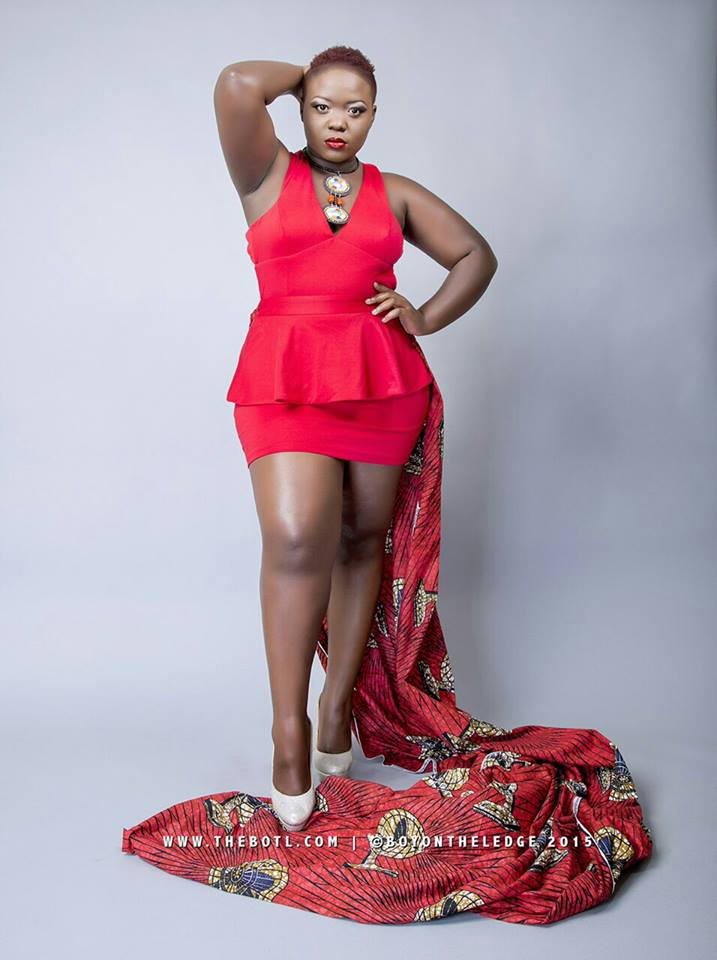 Plus Fab model, Emmah Lamunu [Image: Courtesy of Plus Fabulosity]