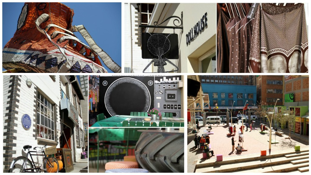 [Images: courtesy of The Fashion District]