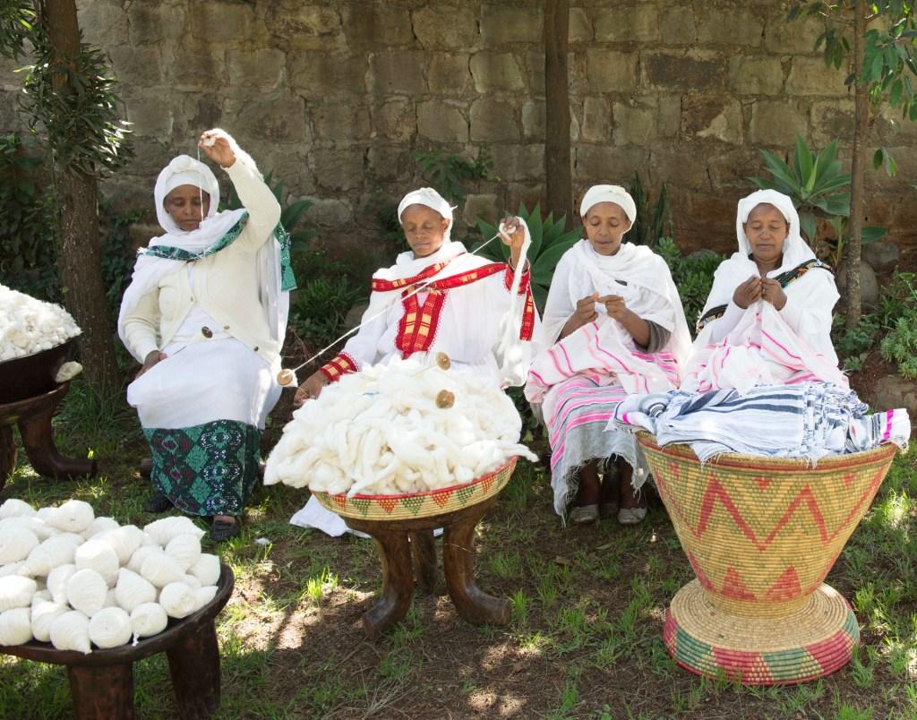 Yarn spinning [Image: Courtesy of lemlem/Giles Bensimon]
