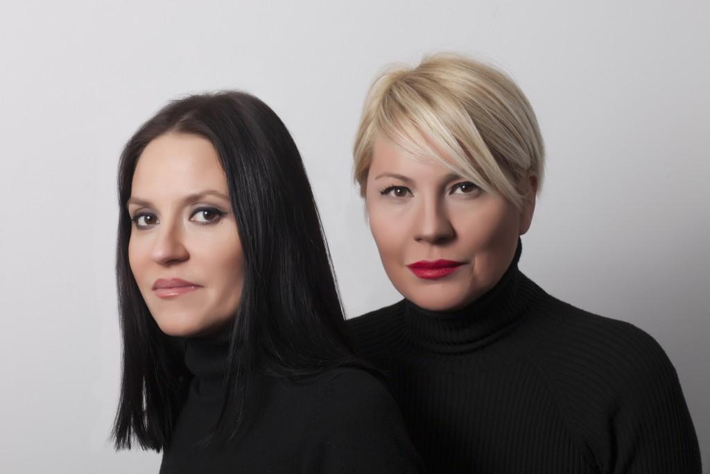 Sisters Tuba and Ezra Cetin of Fashion design label Ezra+Tuba [Image: Baran Akkoyunlu]