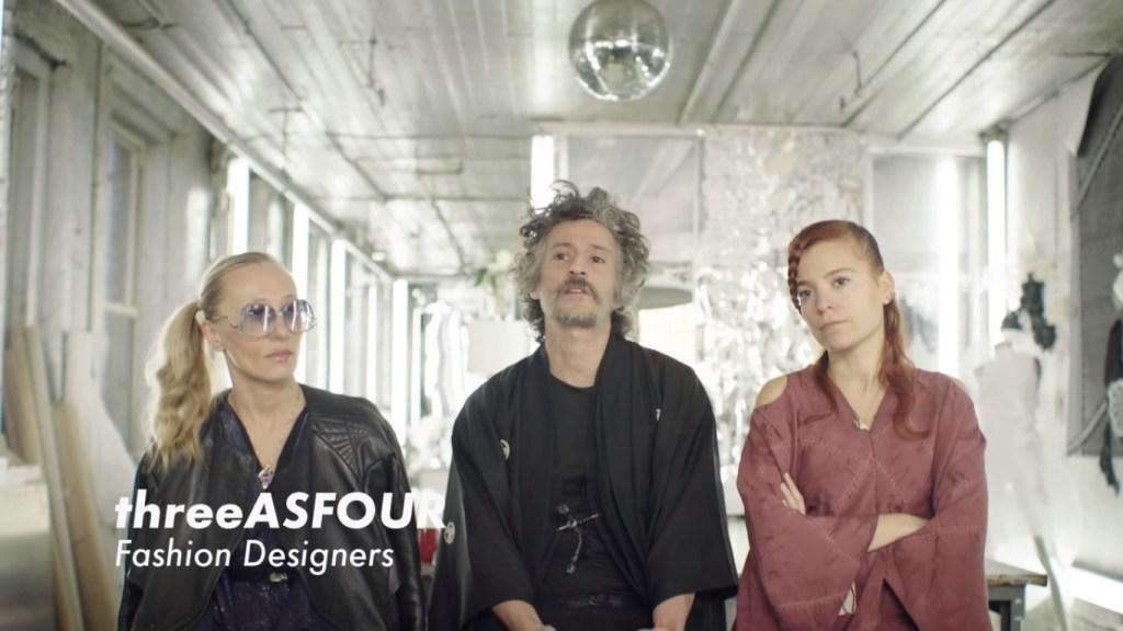[Image: Screenshot from the 'Future Fashion' film]