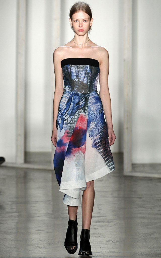 Dion lee Air Dye Organza and Crepe [Image: Dion Lee]