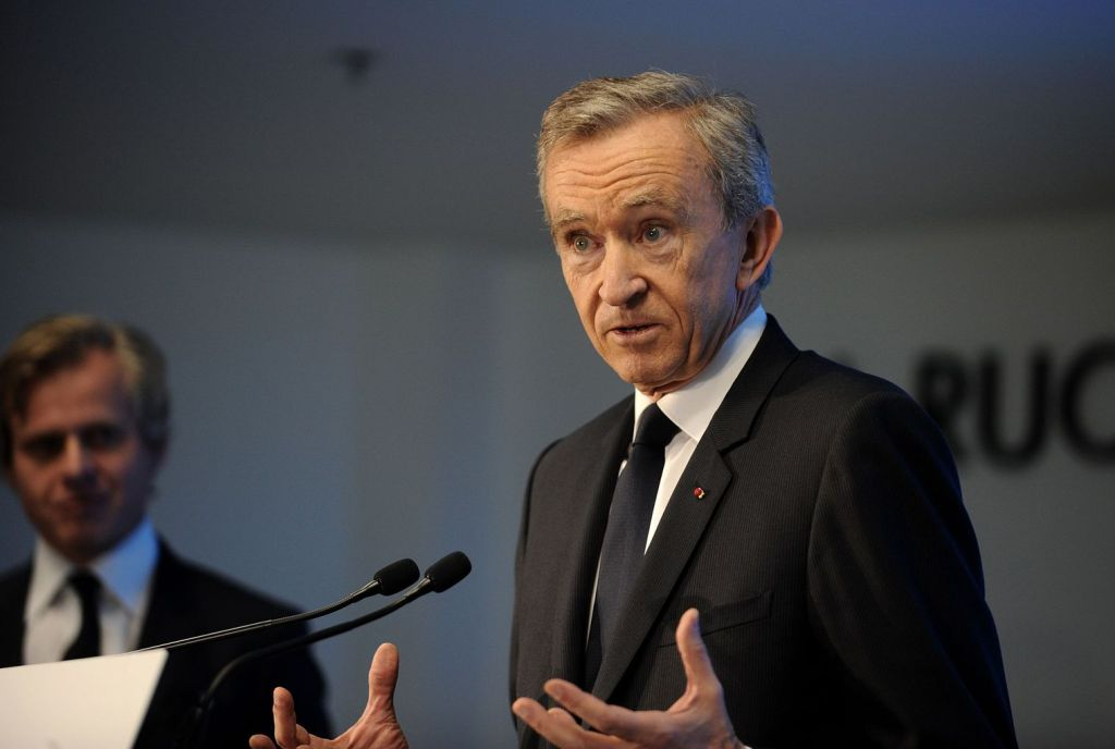 Chairman and CEO of LVMH Bernard Arnault.[Image: Getty Images / Guillaume Souvant]