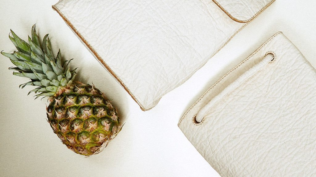 Sustainable Leather Made From Pineapple Waste [Image: Co.Exist]