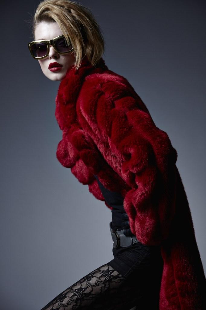 Faux Fur by designer  Charley Calder [Image: Charley Calder]