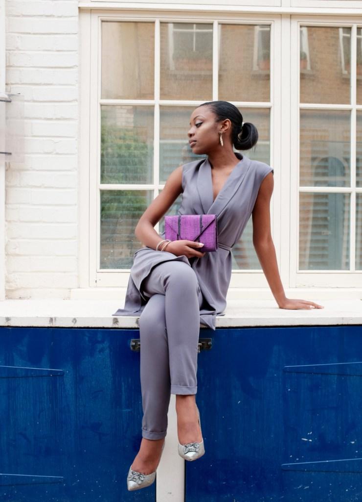 Aso Oke clutch - Aso Oke is a hand loomed cloth woven by the Yoruba people of Nigeria [Image: Katy Dyomina]