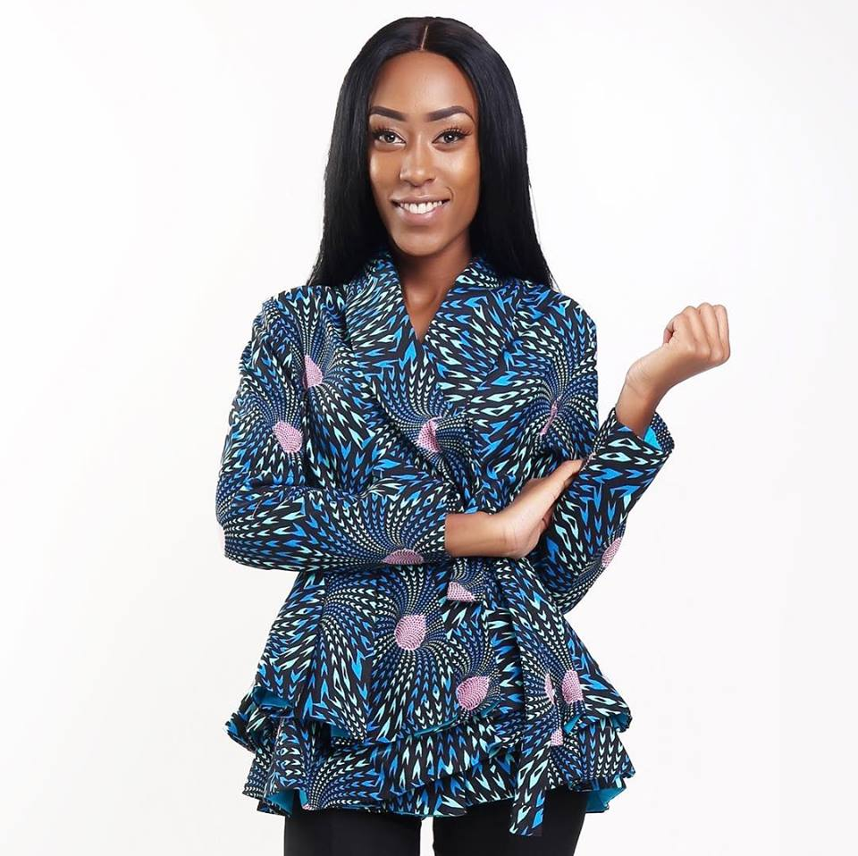 Kahaari Zuri Peplum African Inspired Jacket