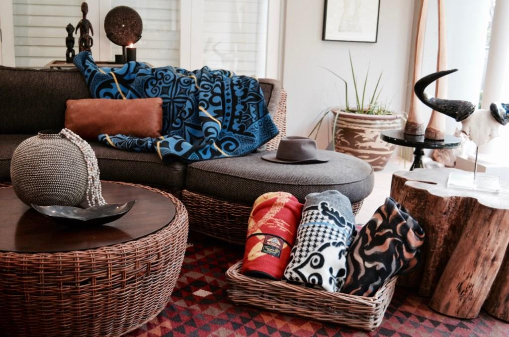 Basotho Blankets Interior design